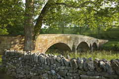Мост Burnside на поле брани Antietam (Sharpsburg) в Maryla Стоковая Фотография