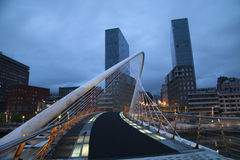 Мост Calatrava Стоковые Изображения RF