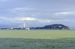 мост california francisco san залива Стоковое Изображение RF