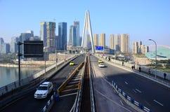 мост chaotianmen Стоковое Фото