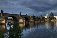 Мост Charles в Прага в Чешской республике 2 Стоковые Фото