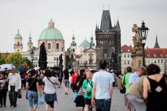 Мост Charles в Прага Стоковое Изображение