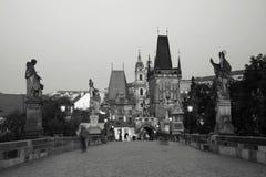 Мост Charles в Прага Стоковое Фото