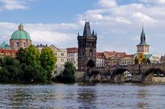 Мост Charles в Прага Стоковое фото RF