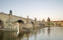 Мост Charles Прага Стоковая Фотография
