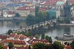 Мост Charles, Прага Стоковая Фотография