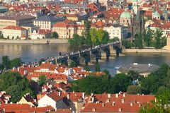 мост charles Стоковое фото RF