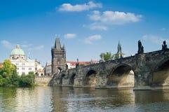 мост charles Стоковое Изображение