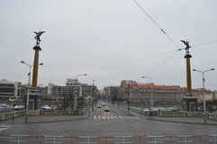 Мост Chekhov в Праге Стоковая Фотография RF