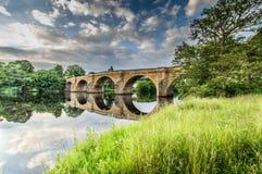 Мост Chesters Стоковое Изображение RF