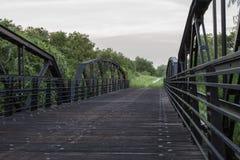 Мост Cibolo Стоковое Изображение