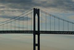 Мост Claiborne Pell Стоковое фото RF