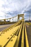 Мост clemente Роберто, Питтсбург Стоковая Фотография