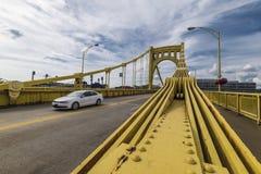 Мост clemente Роберто стоковое изображение