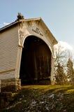 Мост Connersville Индиана Кеннедай Bros покрытый Стоковые Изображения RF
