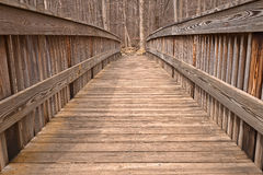 Мост Cunningham - HDR Стоковые Фотографии RF