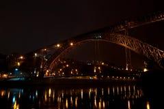 Мост D. Луис Стоковые Изображения