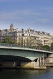 Мост d'Alma Pont в Париж к день Стоковое Изображение
