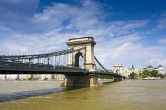 мост danube Стоковые Изображения