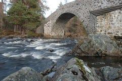 Мост Dee, Invercauld Стоковое Изображение RF