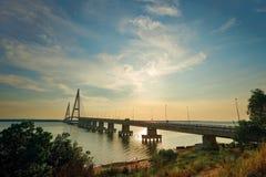 Мост Desaru, Джохор Bahru стоковая фотография rf