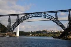 Мост Dom Луис Стоковые Фотографии RF