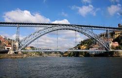 Мост Dom Луис Стоковые Изображения RF