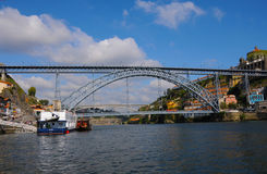 Мост Dom Луис Стоковое Фото