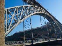 Мост Dom LuÃs i, Порту, Португалия Стоковые Фото