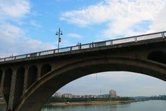 Мост Dongfeng в yongzhou, Хунани, Китае стоковое фото