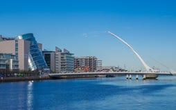 мост dublin Ирландия samuel beckett Стоковые Фотографии RF