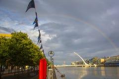 мост dublin Ирландия samuel beckett Стоковая Фотография RF