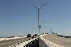 Мост Edison в Fort Myers, юго-западной Флориде Стоковое фото RF