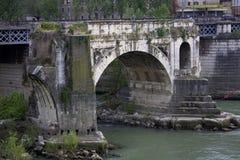 Мост Emilio в Риме, Лацие, Италии Стоковое Изображение RF