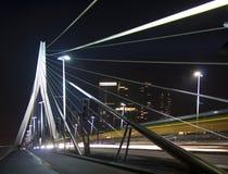 Мост Erasmus, Роттердам стоковая фотография rf