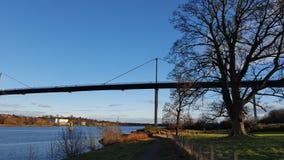 Мост Erskine голубого неба Стоковые Фотографии RF