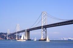 мост francisco oakland san залива Стоковые Фото