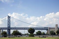 мост franklin Бенжамина стоковое изображение rf