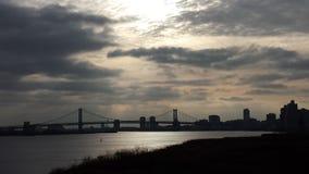 мост franklin ben Стоковая Фотография RF