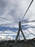 Мост Fribourg Стоковое фото RF