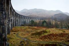 мост glenfinnan Шотландия Стоковая Фотография RF