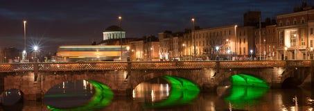 Мост Grattan, Дублин Стоковая Фотография RF