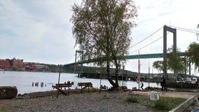 Мост Guthenburg стоковые изображения rf