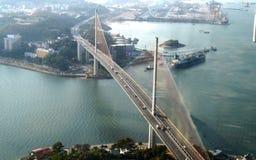 Мост Ha длинный день Стоковое Изображение
