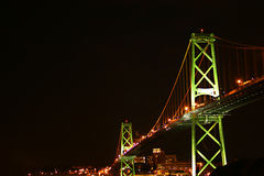 мост halifax Стоковые Изображения