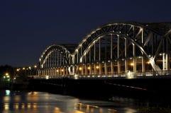 мост hamburg стоковые изображения rf