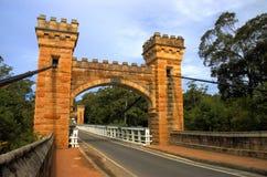 мост hampden стоковое изображение