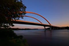 Мост Hastings в Hastings, Минесоте стоковая фотография rf