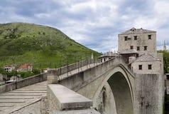 мост herzegovina mostar Боснии Стоковая Фотография