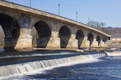 мост hexham Стоковое Изображение RF